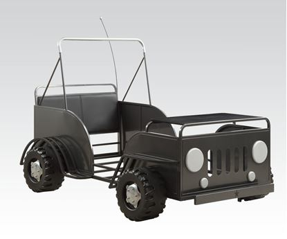 Picture of Gun Metal Car Youth Bed  W/P2