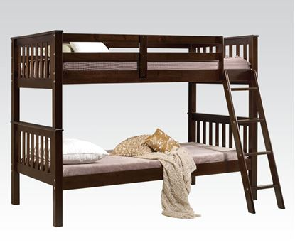 Picture of Searra Espresso Finish Twin/Twin Bunk Bed