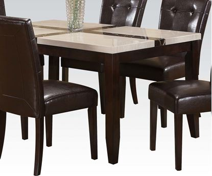 Picture of Contemporary Faux Marble Top Dining Table