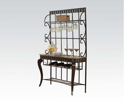 Picture of Galiana Baker's Rack in Espresso Finish