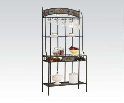 Picture of Contemporary   Desi Metal Finish Baker Rack