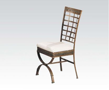 Picture of Egyptian 4 Pcs. Metal Side Chair    (Set of 4)
