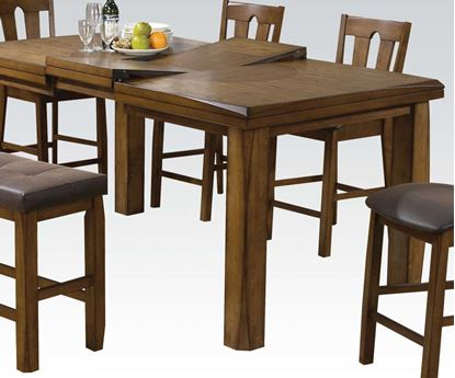 Picture of Morrison Contemporary Oak Counter Height Dining Table