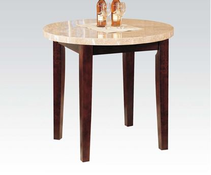 Picture of Britney White Marble Top Counter Height Table