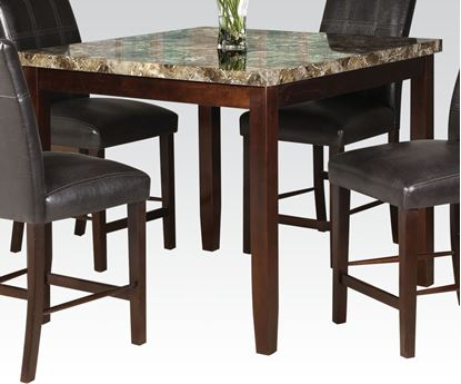 Picture of Modern Faux Marble Top Counter Height Table
