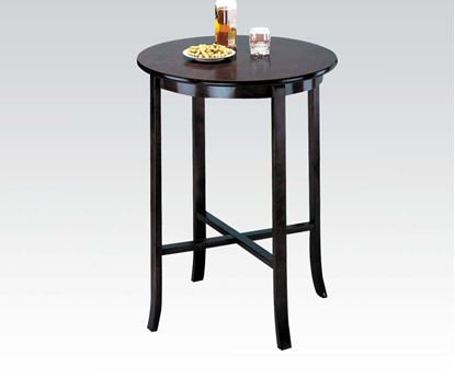 Picture of Contemporary Espresso Pub Table