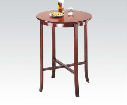 Picture of Contemporary Oak Finish Bar Table