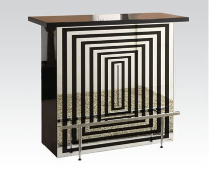 Picture of Zak Bar Table in Black Finish
