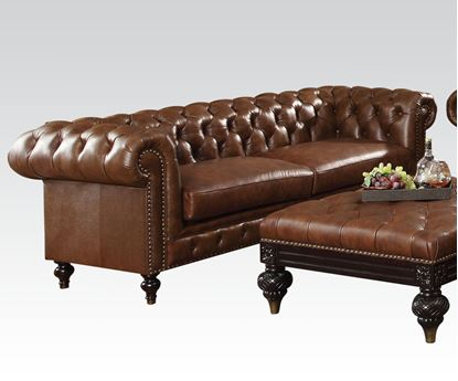 Picture of Shantoria Dark Brown Living Room Sofa