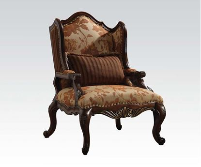 Picture of Remington Bonded Leather & Fabric Arm Chair