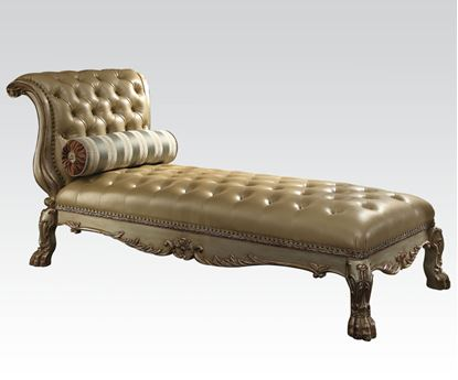 Picture of Dresden Gold Chaise