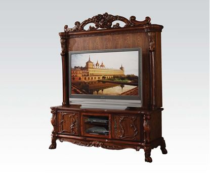 Picture of Dresden Traditional Cherry Solid Wood Entertainment Center