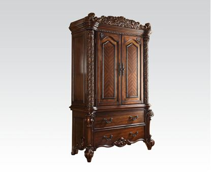 Picture of Vendome Traditional Cherry Finish TV armoire