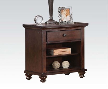 Picture of Aceline Transitional Single Drawer Nightstand with