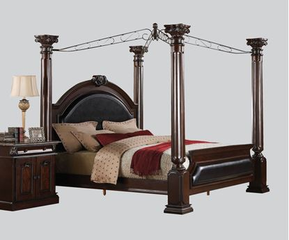 Picture of Roman Empire Cherry Finish Eastern King Bed