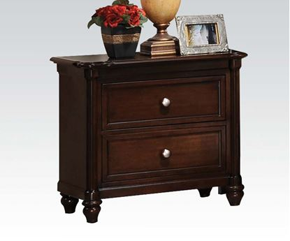 Picture of Amaryllis Cherry Black Night Stand