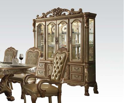 Picture of Dresden Gold Hutch & Buffet