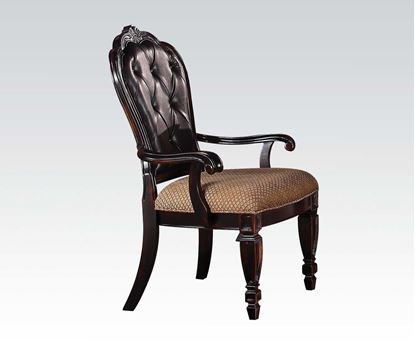 Picture of Le Havre 2 Pcs. Two Tone Brown Arm Chair    (Set of 2)