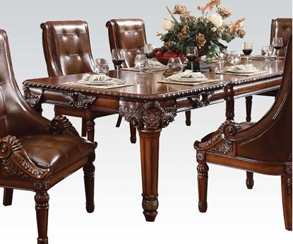 Picture of Winfred Cherry Finish Dining Table