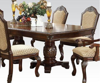 Picture of Chateau De Ville Espresso Dining Table with Leaf