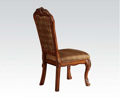 Picture of Dresden Cherry Oak Finish 2 PCs. Dining Side Chairs by   (Set of 2)