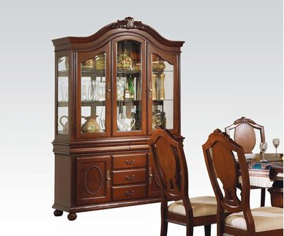 Picture of Classique Buffet with Hutch in Brown