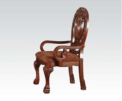 Picture of Traditional Quinlan Cherry 2 Pcs. Arm Chair by    (Set of 2)