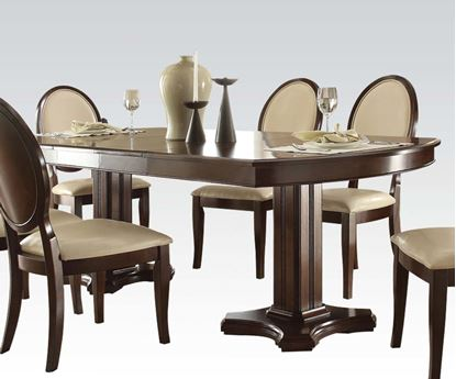 Picture of Traditional Balint Cherry Dining Table with Leaf