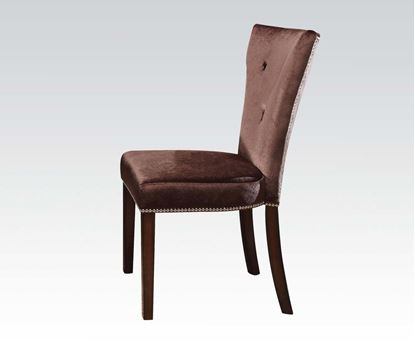 Picture of Kingston Set of 2 Side Chairs in Brown  (Set of 2)