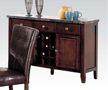 Picture of Danville Black Marble Top Server