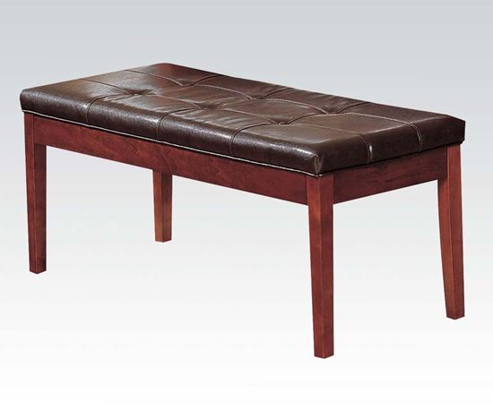 Picture of 7056 Bologna Brown Marble Table Top Dining Bench