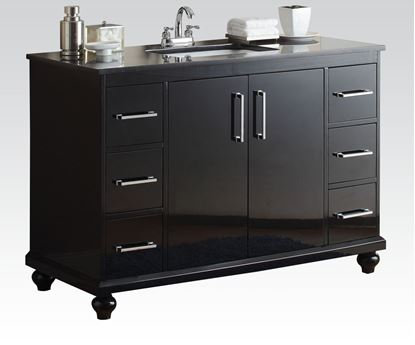 Picture of Bk Marble Sink W/P2