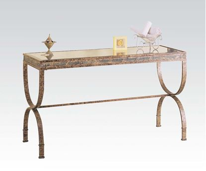 Picture of Vanessa Marbled Finish Console Table