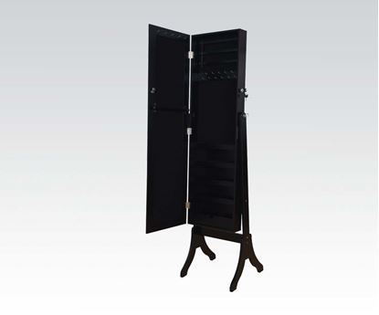 Picture of Bk Jewelry Armoire W/ Mirror  W/P2 (Ista 3A)