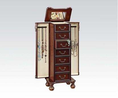 Picture of Cherry Jewelry Armoire (3A3B Pking W/P2)