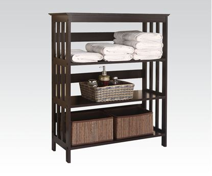 Picture of Opeli 3 Tier Shelf Rack in Espresso