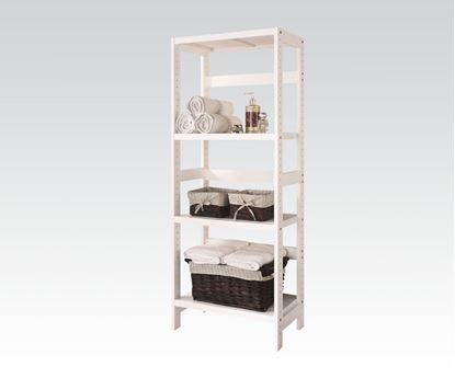 Picture of Meera 3 Tier Shelf Rack in White