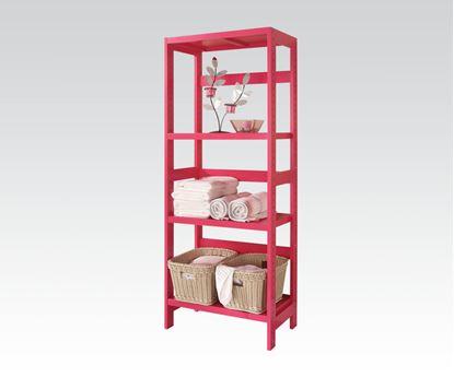 Picture of Meera 3 Tier Shelf Rack in Pink