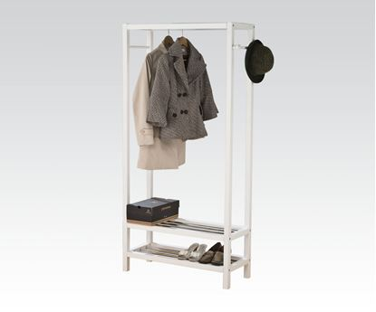 Picture of Maeve Garment Rack in White
