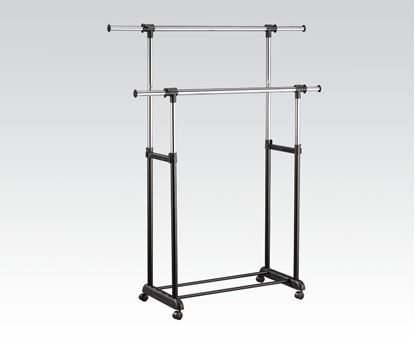 Picture of Garment Rack Black Finish