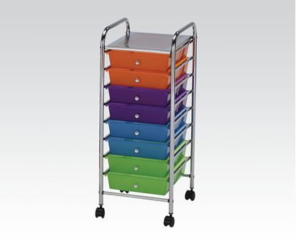 Picture of Storage Cart w/10 drawers Mobile Organizer
