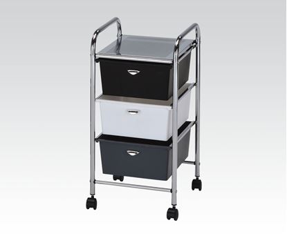 Picture of Storage Cart w/5 drawers Mobile Organizer