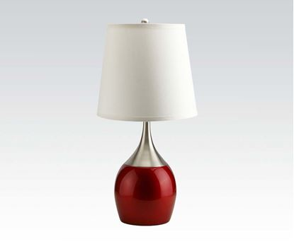 Picture of 23' Red Table Lamp (2Ctn)  (Set of 4)