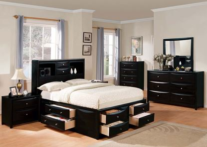 Picture of Manhattan Black Queen Set