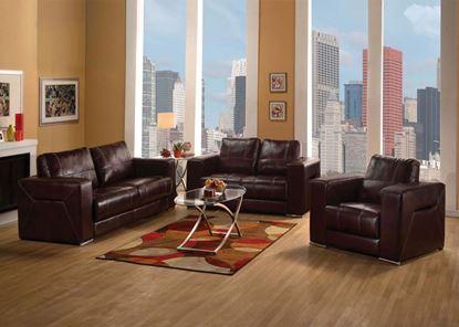 Picture of Brayden Dark Brown Living Room Set
