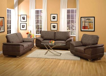 Picture of Corliss Gray Living Room Set