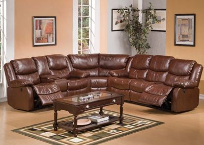 Picture of Fullerton Brown Living Room Set